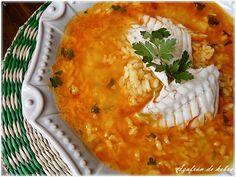 Azafrán de hebra: Arroz caldoso de pescado