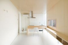 House in Nakameguro is a minimalist house located in Tokyo, Japan, designed by Hayashijun Takashi Architects. The small home is located on a full plot in the heart of the city. (11)