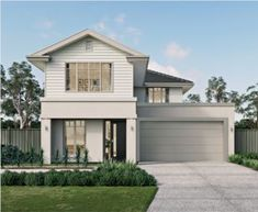 Metricon features a zoned living environment that allows for privacy and interaction. Choose the Mason home from Metricon to know more about this! Two Storey House Plans, Large Floor Plans, Outdoor Rooms, Outdoor Decor, Storey Homes, Display Homes, New Home Designs, Finding A House, Home Look