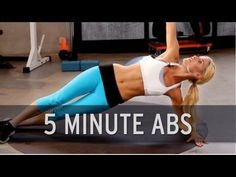 How to Lose Belly Fat: 5 Minute Abs! One of many ab workouts on our channel. Quick daily workouts to tone your body, workout with our hosts with our timer! :)