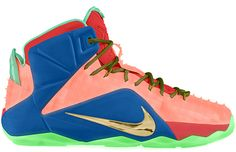 a429d7282d2 ... denmark the nikeid lebron 12 ext is now available for customization  featuring the most impressive variety