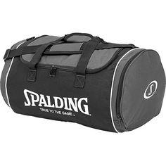 Bolsa Spalding grande, con un compartimento para ropa húmeda o zapatillas y 2 más adicionales a los lados www.basketspirit.com/accesorios-baloncesto/Bolsas-Mochilas-Maletas-y-Portabalones
