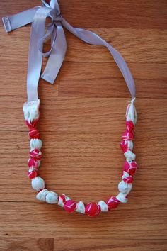 Teething necklace.