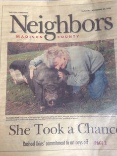 Magazine cover story