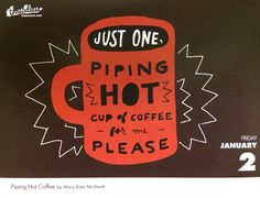 Piping Hot Coffee