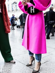 All the Jaw-Dropping Street Style Looks Direct From Couture Fashion Week