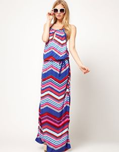 Enlarge Oasis Stripe Maxi Dress from ASOS - HUGE 70% OFF sale + Extra 15% off + 7% cash back! http://studentrate.com/studentrate/itp/get-itp-student-deals/ASOS-Student-Discount--/0