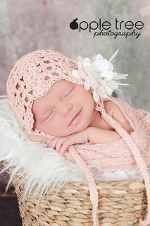 Julianna bonnet. crochet pattern