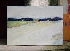 """""""Landscape 31"""" 39.37/27.5(100/70cm). Oil painting on cotton canvas. Unique impasto texture. abstract, city."""