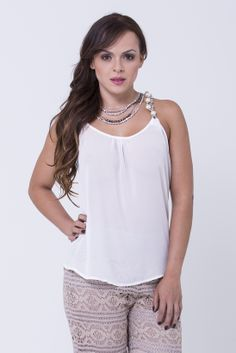 www.bonabella.com.co Tank Tops, Women, Fashion, November, Moda, Halter Tops, Fashion Styles, Fashion Illustrations