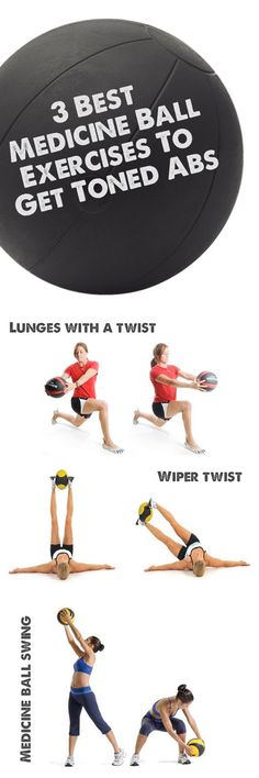3 Best Medicine Ball Exercises To Get Toned Abs