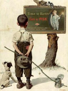 time-to-retire-boy-and-dog