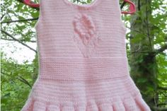 Baby Girl Dress, Original Design, months, Gift for Baby Pink Acrylics, Girls Dresses, Summer Dresses, Formal Looks, Handmade Baby, 6 Months, Hand Knitting, Perfect Fit, Baby Gifts