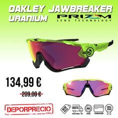 Las #Oakley de los profesionales, las #JAWBREAKER #PRIZM ROAD usadas en #lavuelta. Ahora a tu alcance al mejor precio en ----> http://www.deporprecio.com/es/84-oakley-jawbreaker-uranium-prizm.html #lavueltaespana #gafasdesol #ciclismo #deportes #deporprecio