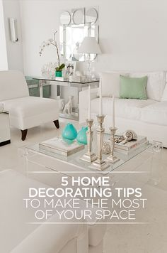 Whether you're contemporary and minimalist or more the country-cottage type, you'll be able to fill in the details around your lifestyle by knowing the big picture. Here are Colin's 5 Home Decorating Tips: