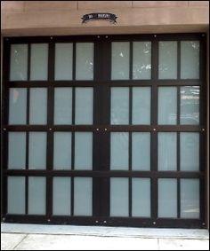 Myers Plumbing - Custom Titan Model Overhead Sectional Door