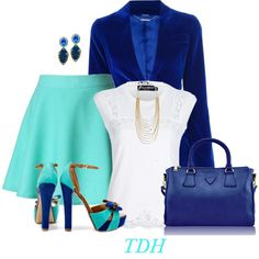 Blues, created by talvadh on Polyvore