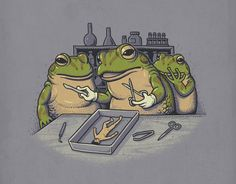 Not everyday we come across clever illustrations like the ones artist Ben Chen creates. Full of dark humor and combined ingeniously with pop culture Satire, Cultura Pop, Geeks, Chen, Parallel Universe, Frog And Toad, Humor Grafico, Arte Pop, Unique Art