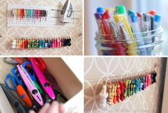pretty ribbon storage ideas! Check out this post for lots of ideas on Ribbon and Fabric Storage.