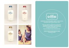 That Milk Branding and Design Milk Brands, Roasted Almonds, Canvas Designs, A Boutique, Typography, Packaging, Branding, Logo, Vintage