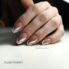 Nail Art Designs and Ideas 2019 - NailGet - Get The Best Nail Designs nageldesign 2019 Nail Art Designs and Ideas 2020 Frensh Nails, French Manicure Nails, Chic Nails, Stylish Nails, Pink Nails, French Nail Art, French Nail Designs, Nail Art Designs, French Manicure With Design
