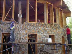 maison bois cordé - Google Search