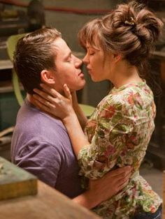 Channing Tatum as Leo in 'The Vow'. We don't blame Rachel McAdams for falling in love with you again.