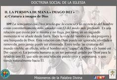 Misioneros de la Palabra Divina: DOCTRINA SOCIAL DE LA IGLESIA ( CAP III )