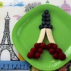 Fruit Eiffel Tower...