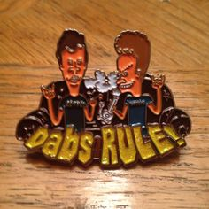 Headiest Dab Pins: Beavis & Butthead | Weedist