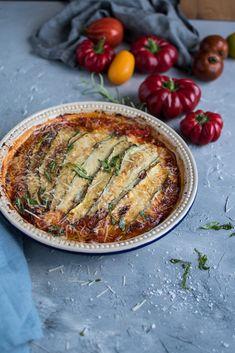 Zucchini-Lasagne low carb ⋆ Knusperstübchen