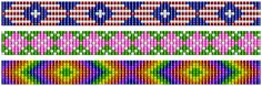 Small+Bead+Loom+Bracelet+Pattern | ... loom patterns. One person specifically requested repeating patterns