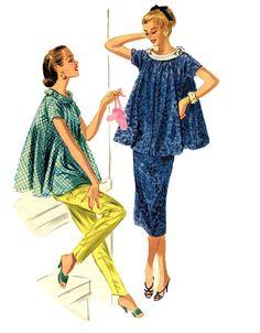 1950s Maternity Wardrobe Baby Shower Party by DesignRewindFashions, $15.00