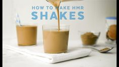 Just joined the HMR program or need a few more tips to perfect your HMR Shakes? Watch this video for how to make the perfect HMR shake for YOU! Shake Recipes, Healthy Living, Good Food, The Creator, Breakfast, Tableware, Desserts, How To Make, Morning Coffee