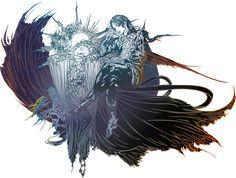 Original Final Fantasy II logo by on DeviantArt Final Fantasy Cloud, Final Fantasy Tattoo, Noctis Final Fantasy, Arte Final Fantasy, Fantasy Logo, Final Fantasy Cosplay, Gothic Fantasy Art, Final Fantasy Artwork, Final Fantasy Characters