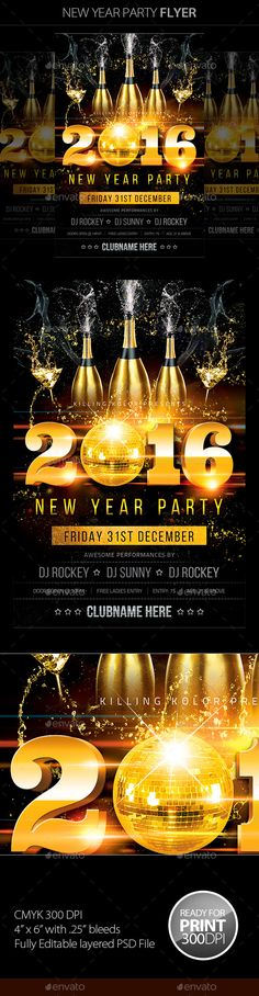 colorful party club parties new years party party flyer flyer template invitation design music events nye burlesque