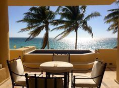 Monday mornings are a lot better soaking up the sun on your suite deck at Zoëtry Paraiso de la Bonita Riviera Maya.