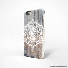 Lace wood iPhone 6 case iPhone 6 plus case iPhone 5s by Darkoolart