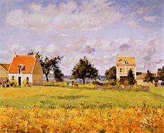 Camille Pissarro - La Maison Rouge