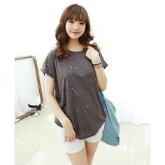 Buy 'Dodostyle – Paint-Splattered Short-Sleeve T-Shirt' with Free International Shipping at YesStyle.com. Browse and shop for thousands of Asian fashion items from South Korea and more!