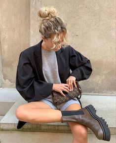 Fall Outfits, Cute Outfits, Fashion Outfits, Womens Fashion, Fashion Tips, Mode Dope, Quoi Porter, Foto Fashion, Fashion Brand