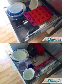 Mission Ordnung In Der Küche Schublade Für Backzeug