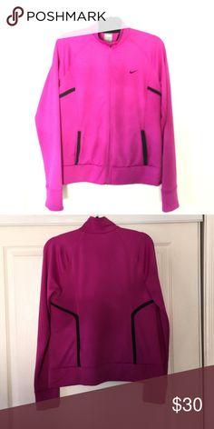 Nike jacket Nike fit dry jacket, fuchsia color.Gently worn Nike Other