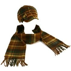 Winter Plaid Ribbon Bow Newsboy Cabbie Hat Softer ($12.95)