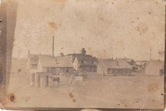 First known photo of Fort Worth in what is now the area of Downtown. c1870