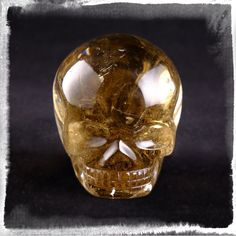 * RESERVED S * Smokey Citrine Cathedral Lightbrary with Rainbows - crystal skull - Leandro de Souza - 5 Crystal Skull, Rainbows, Skulls, Cathedral, Crystals, Crystal, Rainbow, Crystals Minerals, Skull