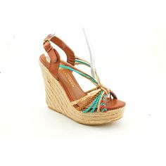 Chinese Laundry Womens Dance Fever Wedge SandalBrown10 M US * Details can be found by clicking on the image.