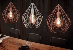 Lámparas originales y que quedan genial en cualquier rincón de tu casa