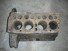 Hercules ZXA flat head 4 cylinder engine blocks by vintagehouses