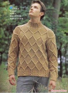 Вот несколько моделей джемперов для мужчин.